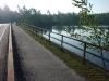 Bike Trail at Fish Creek, Upper Saranac Lake