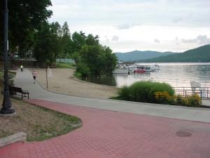 Lake George beach