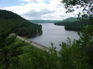 Reservoir view near Hadley